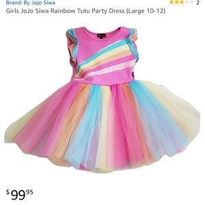 Jojo Siwa Rainbow Concert Dress